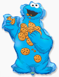 "И Коржик Сезам / Cookie Monster 32""/81*51 см"